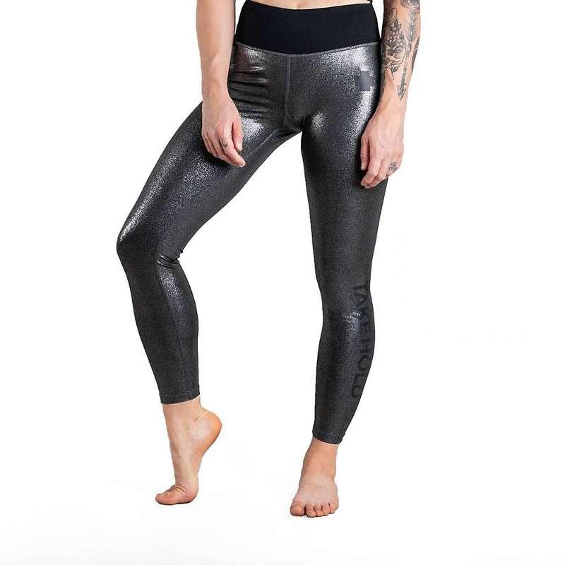 ソイル レディース カジュアルパンツ ボトムス So iLL Women's Shimmer Legging Silver
