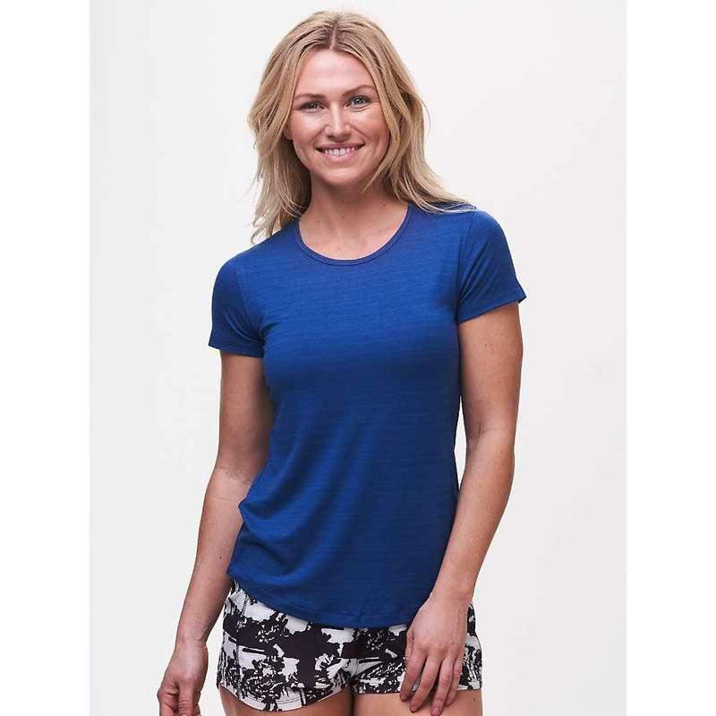 タスクパフォーマンス レディース Tシャツ トップス Tasc Women's Energy Fitted Tee Sky Blue Tech Dot