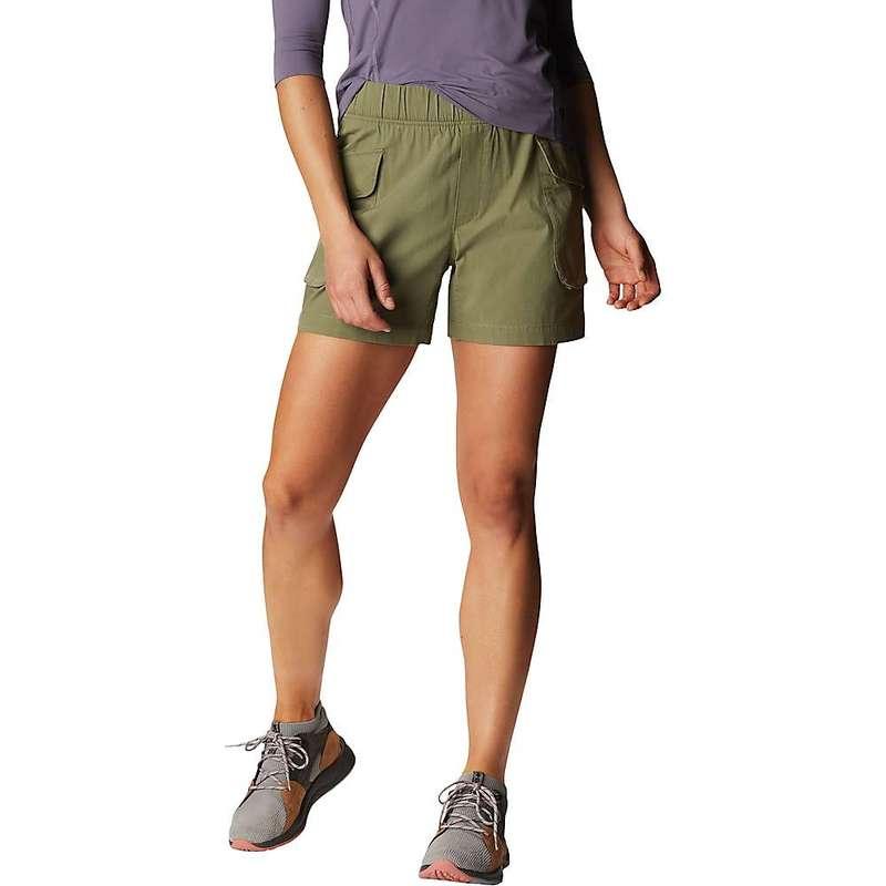 マウンテンハードウェア レディース ハーフパンツ・ショーツ ボトムス Mountain Hardwear Women's Cascade Pass Cargo 5 Inch Short Light Army