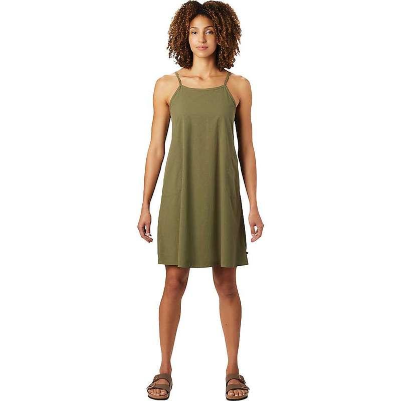 マウンテンハードウェア レディース ワンピース トップス Mountain Hardwear Women's Echo Lake Strappy Dress Light Army