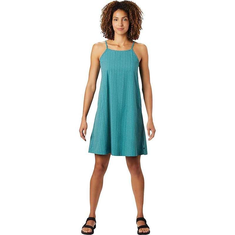 マウンテンハードウェア レディース ワンピース トップス Mountain Hardwear Women's Echo Lake Strappy Dress Washed Turq