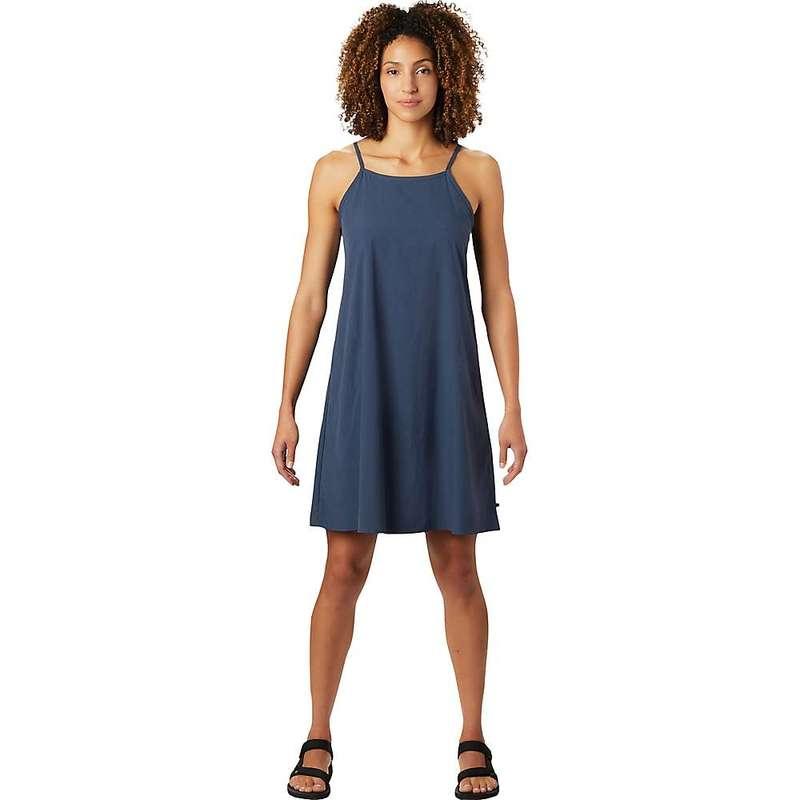 マウンテンハードウェア レディース ワンピース トップス Mountain Hardwear Women's Echo Lake Strappy Dress Zinc
