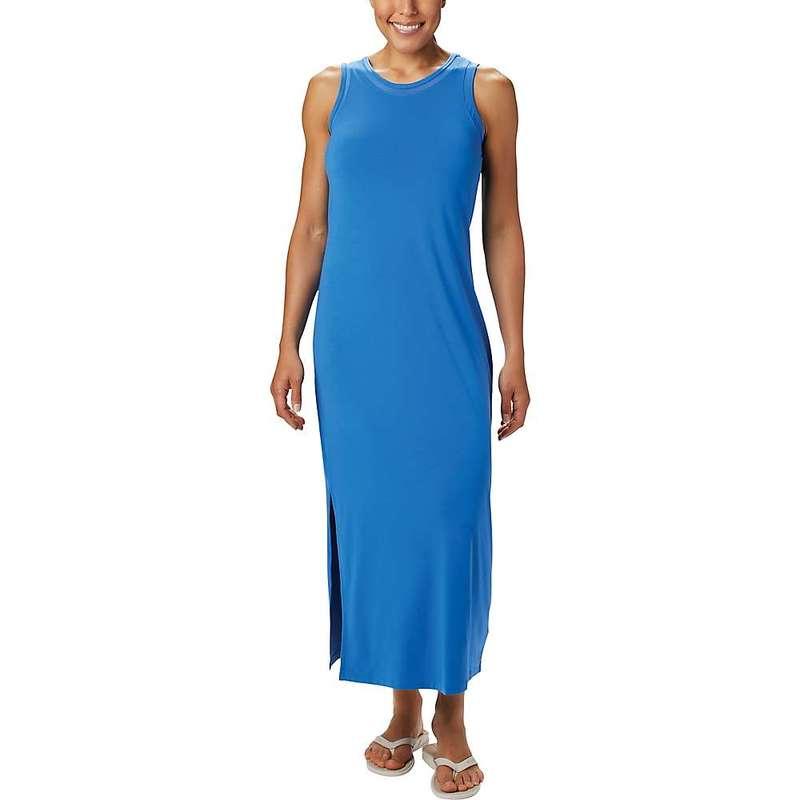 コロンビア レディース ワンピース トップス Columbia Women's Slack Water Knit Maxi Dress Stormy Blue
