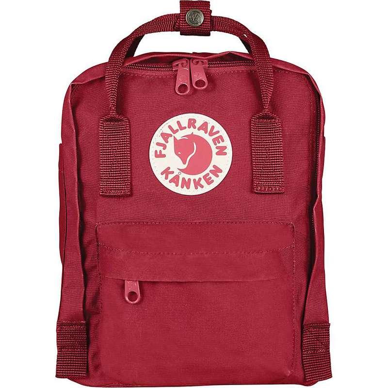 フェールラーベン メンズ バックパック・リュックサック バッグ Fjallraven Kanken Mini Backpack Deep Red