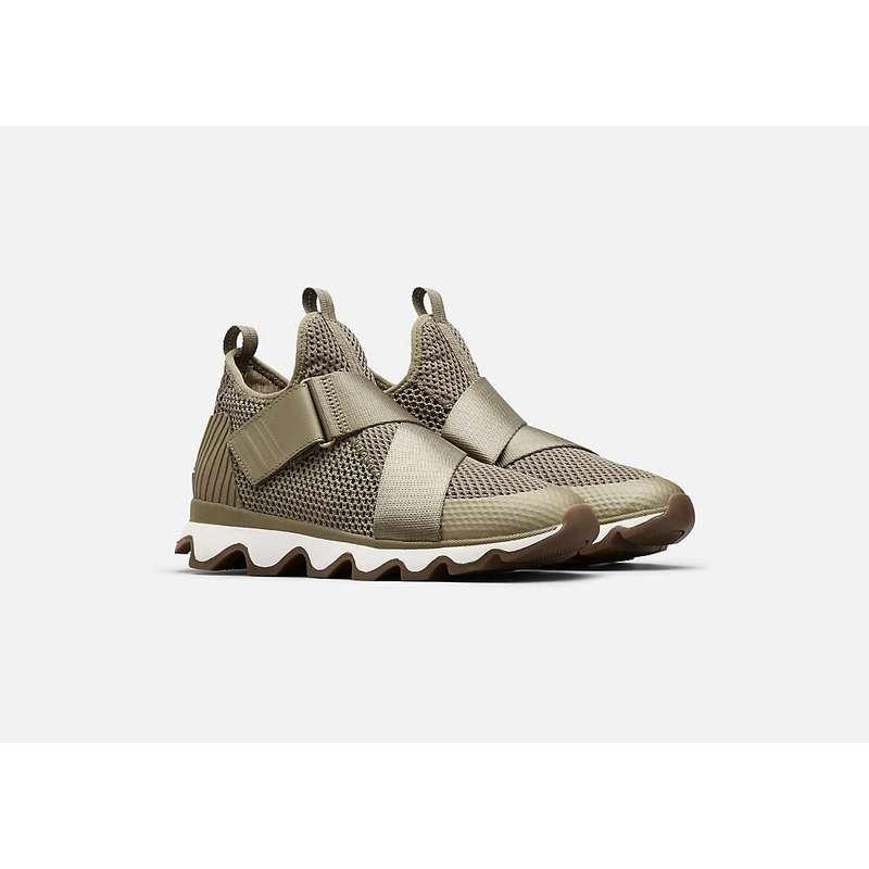 ソレル レディース スニーカー シューズ Sorel Women's Kinetic Sneak Shoe Camo - Sage