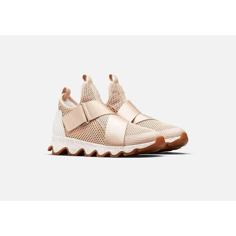 ソレル レディース スニーカー シューズ Sorel Women's Kinetic Sneak Shoe Natural Tan