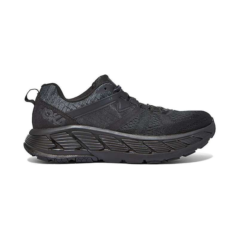 ホッカオネオネ レディース ブーツ・レインブーツ シューズ Hoka One One Women's Gaviota 2 Shoe BLACK / DARK SHADOW