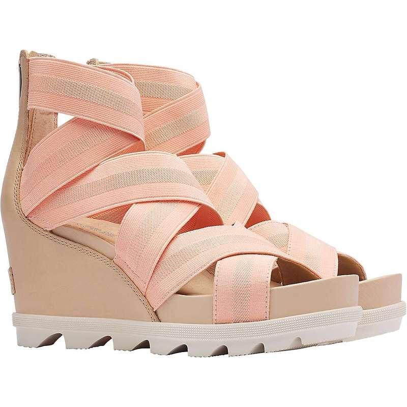 ソレル レディース サンダル シューズ Sorel Women's Joanie II Strap Sandal Natural Tan