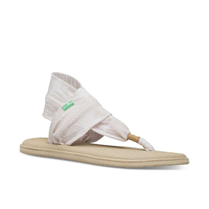 サヌーク レディース サンダル シューズ Sanuk Women's Yoga Sling 2 Print Sandal Birch Palm