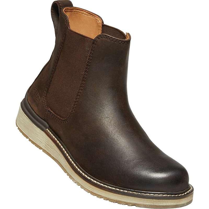 キーン レディース ブーツ・レインブーツ シューズ Keen Women's Bailey Chelsea Boot Mulch