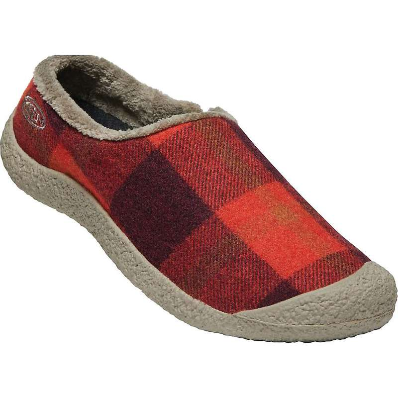 キーン レディース スニーカー シューズ Keen Women's Howser Slide Red Plaid / Brindle