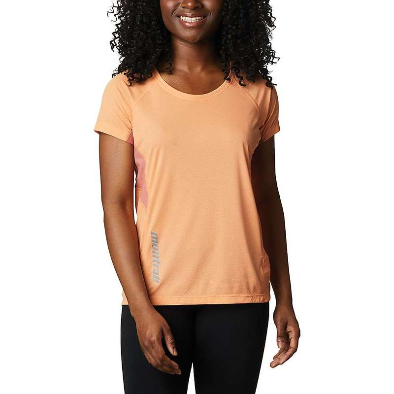 コロンビア レディース シャツ トップス Columbia Montrail Women's Titan Ultra II SS Top Bright Nectar / Dark Coral