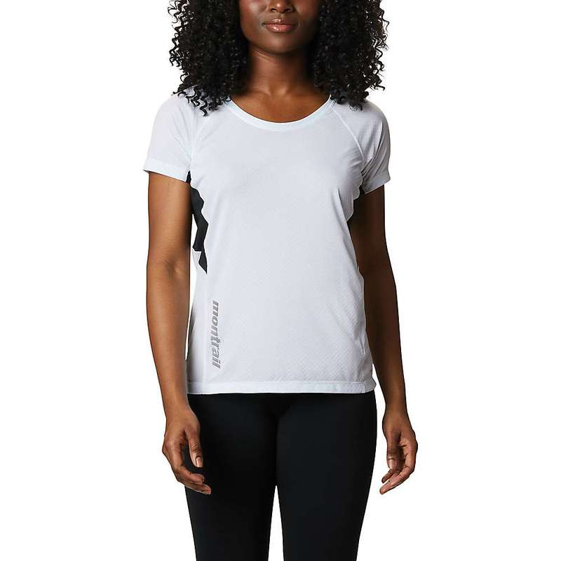 コロンビア レディース シャツ トップス Columbia Montrail Women's Titan Ultra II SS Top White / Black