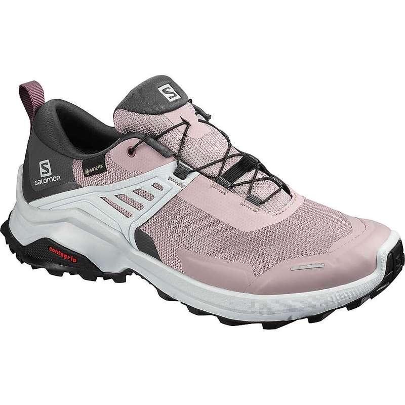 サロモン レディース ブーツ・レインブーツ シューズ Salomon Women's X Raise GTX Shoe Quail/India Ink/Flint