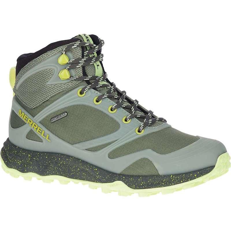 メレル レディース ブーツ・レインブーツ シューズ Merrell Women's Altalight Mid Waterproof Shoe Lichen