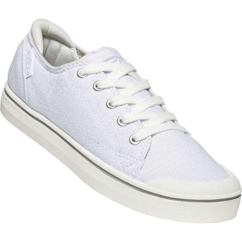 キーン レディース スニーカー シューズ Keen Women's Elsa IV Sneaker White / Star White