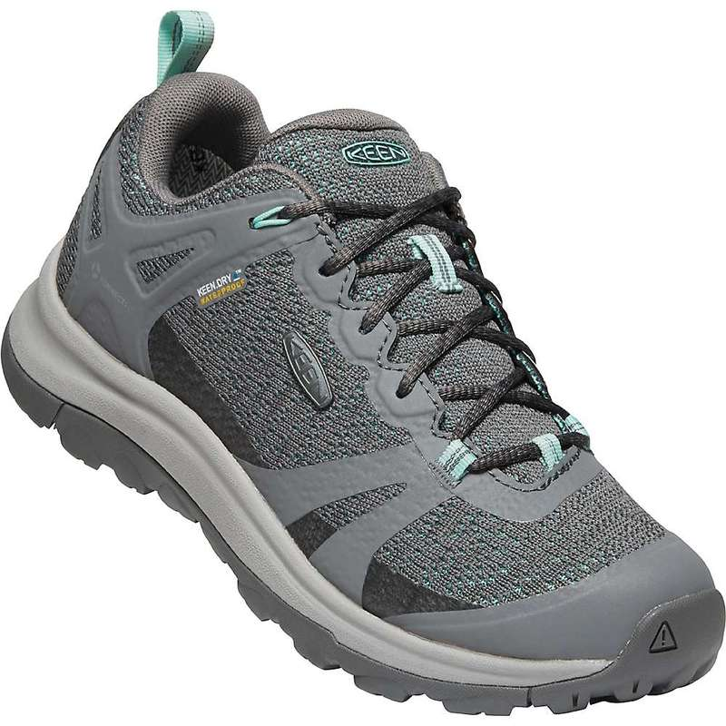 キーン レディース ブーツ・レインブーツ シューズ Keen Women's Terradora II Waterproof Shoe Steel Grey / Ocean Wave
