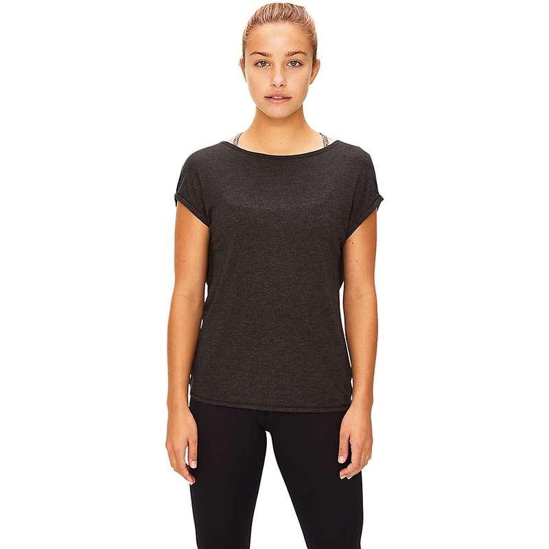ロル レディース Tシャツ トップス Lole Women's Assent Short Sleeve Top Black Heather