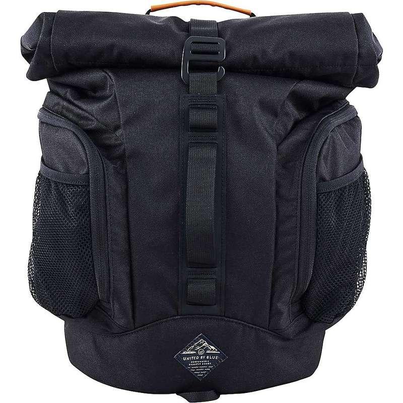 ユナイテッドバイブルー メンズ バックパック・リュックサック バッグ United By Blue 16L Rolltop Backpack Black