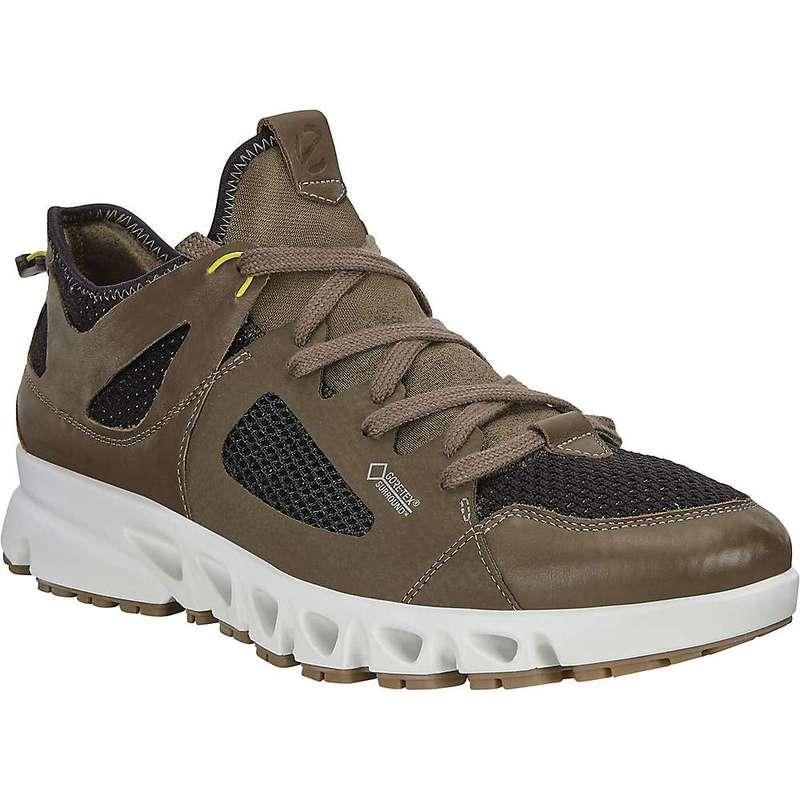 エコー メンズ ブーツ・レインブーツ シューズ Ecco Men's Omni-Vent Air Shoe Tarmac/Black/Sulphur