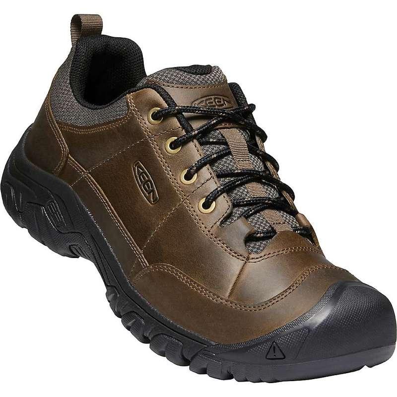 キーン メンズ スニーカー シューズ Keen Men's Targhee III Oxford Shoe Canteen / Black