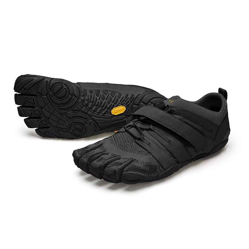 ビブラムファイブフィンガーズ メンズ スニーカー シューズ Vibram Five Fingers Men's V-Train 2.0 Shoe Black/Black