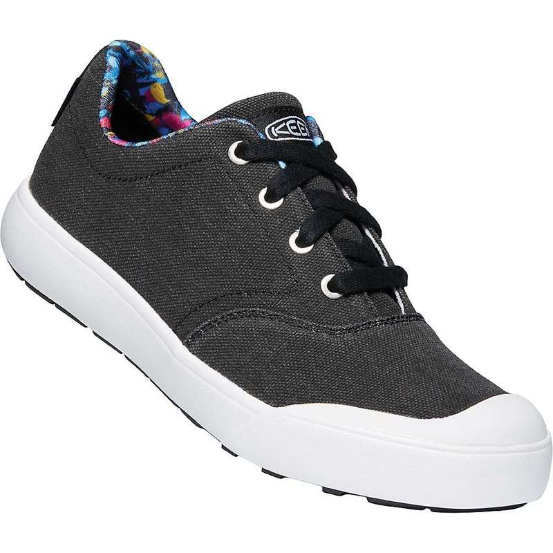 キーン レディース スニーカー シューズ Keen Women's Elena Oxford Shoe Black / White