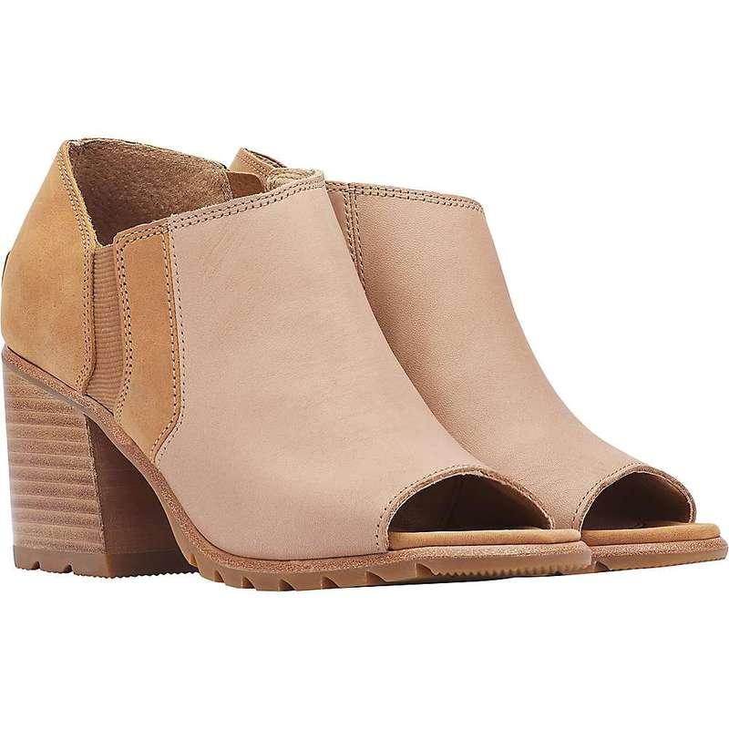 ソレル レディース ブーツ・レインブーツ シューズ Sorel Women's Nadia Ankle Bootie Honest Beige