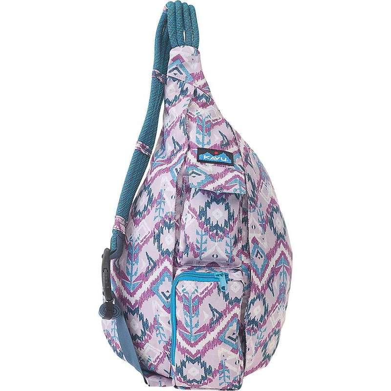 カブー レディース ボディバッグ・ウエストポーチ バッグ KAVU Women's Rope Sling Bag Purple Ikat