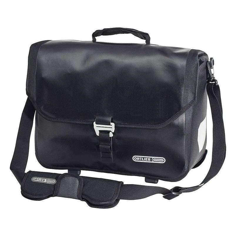 オートリービー メンズ ショルダーバッグ バッグ Ortlieb Downtown 2 QL2.1 Commuter Bag Black