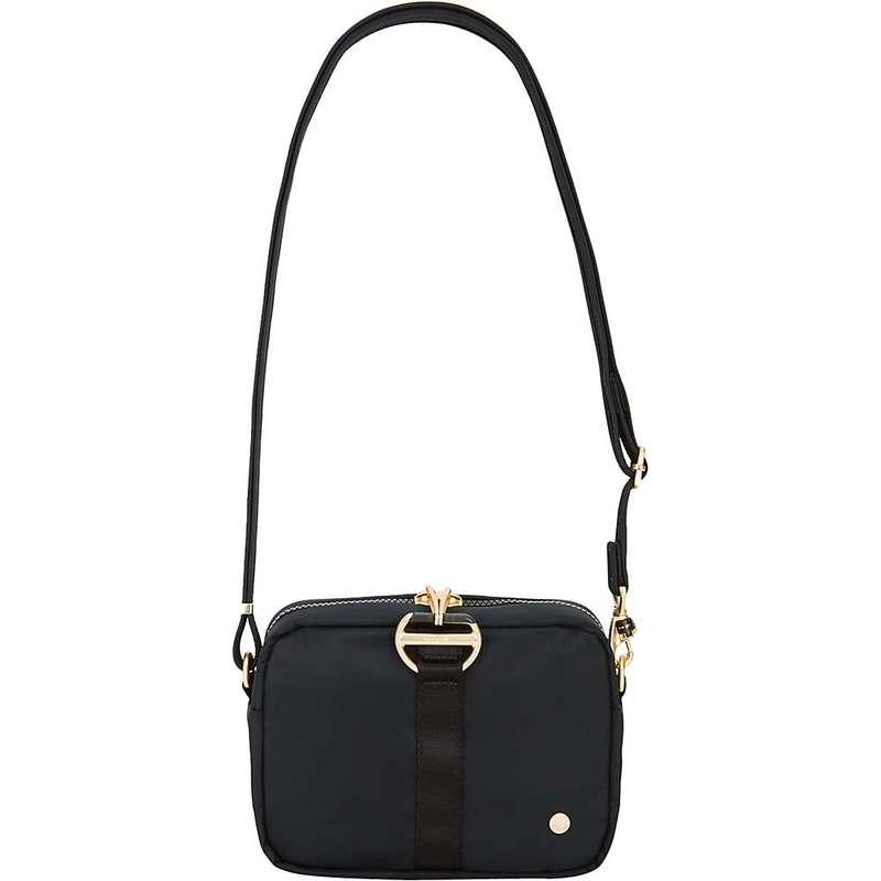 パックセーフ レディース ショルダーバッグ バッグ Pacsafe Women's Citysafe CX Square Crossbody Bag Black