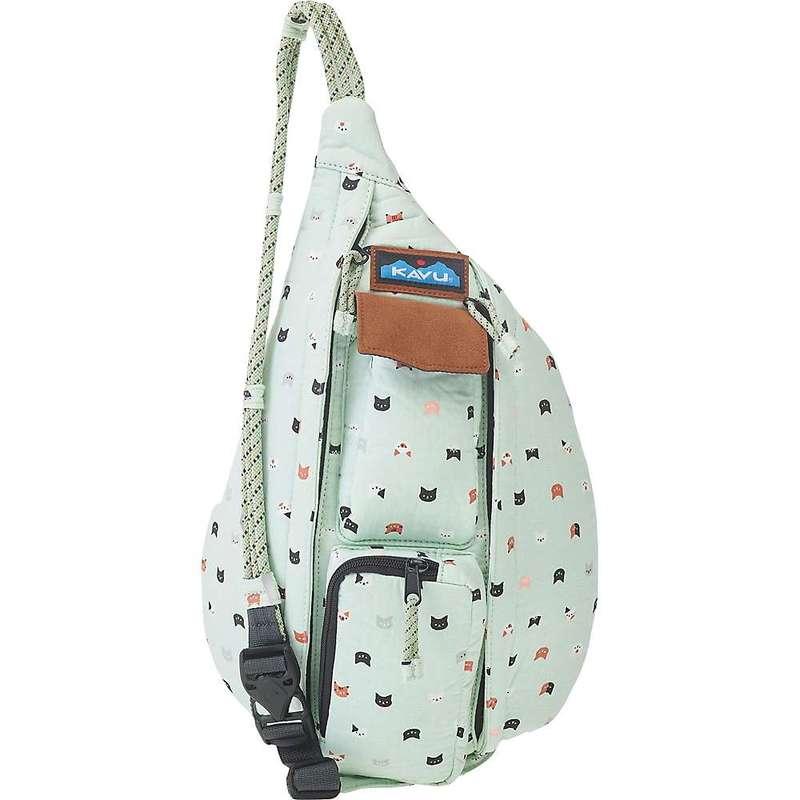 カブー メンズ ボディバッグ・ウエストポーチ バッグ KAVU Mini Ropeable Bag Kitten Crazy