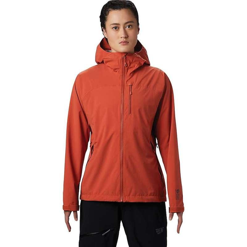 マウンテンハードウェア レディース ジャケット・ブルゾン アウター Mountain Hardwear Women's Stretch Ozonic Jacket Dark Clay