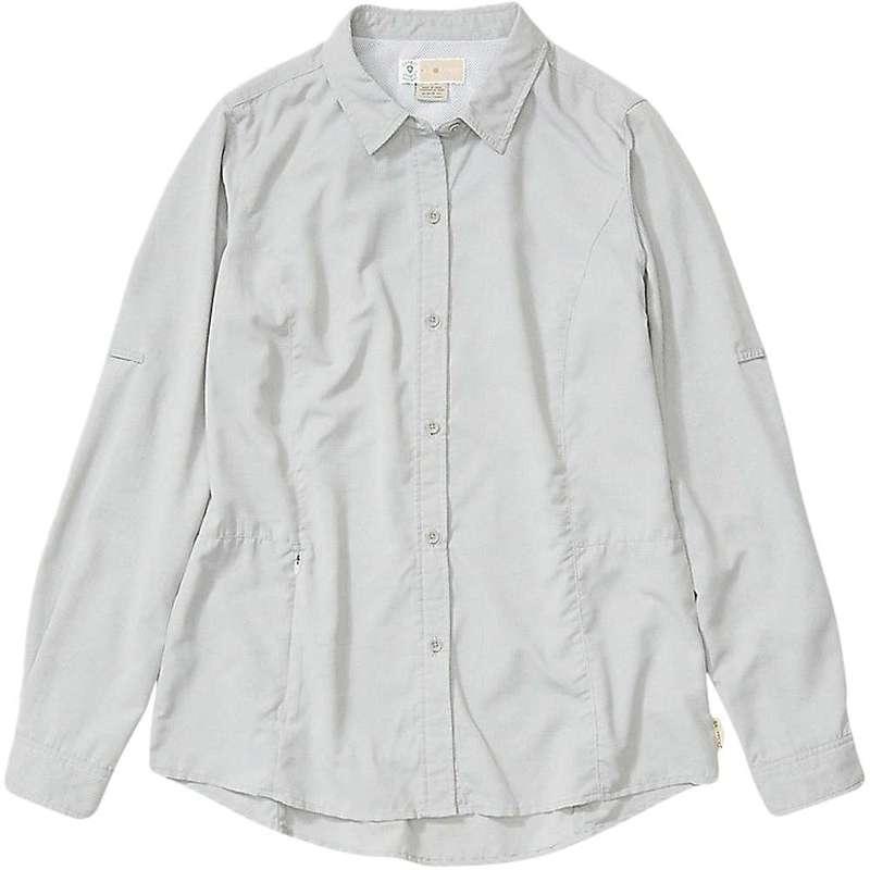 エクスオフィシオ レディース シャツ トップス ExOfficio Women's BugsAway Brisa LS Shirt Nori