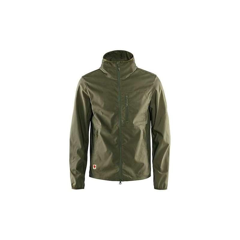 フェールラーベン メンズ ジャケット・ブルゾン アウター Fjallraven Men's High Coast Shade Jacket Green
