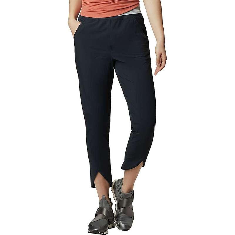 マウンテンハードウェア レディース カジュアルパンツ ボトムス Mountain Hardwear Women's Railay Ankle Pant Dark Storm