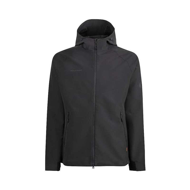 マムート メンズ ジャケット・ブルゾン アウター Mammut Men's Macun Softshell Hooded Jacket Phantom