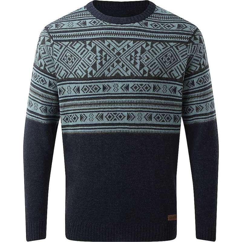 シャーパ メンズ ニット・セーター アウター Sherpa Men's Nathula Crew Sweater Rathee Blue
