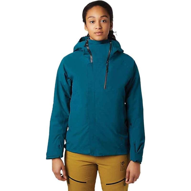 マウンテンハードウェア レディース ジャケット・ブルゾン アウター Mountain Hardwear Women's Cloud Bank GTX Insulated Jacket Dive