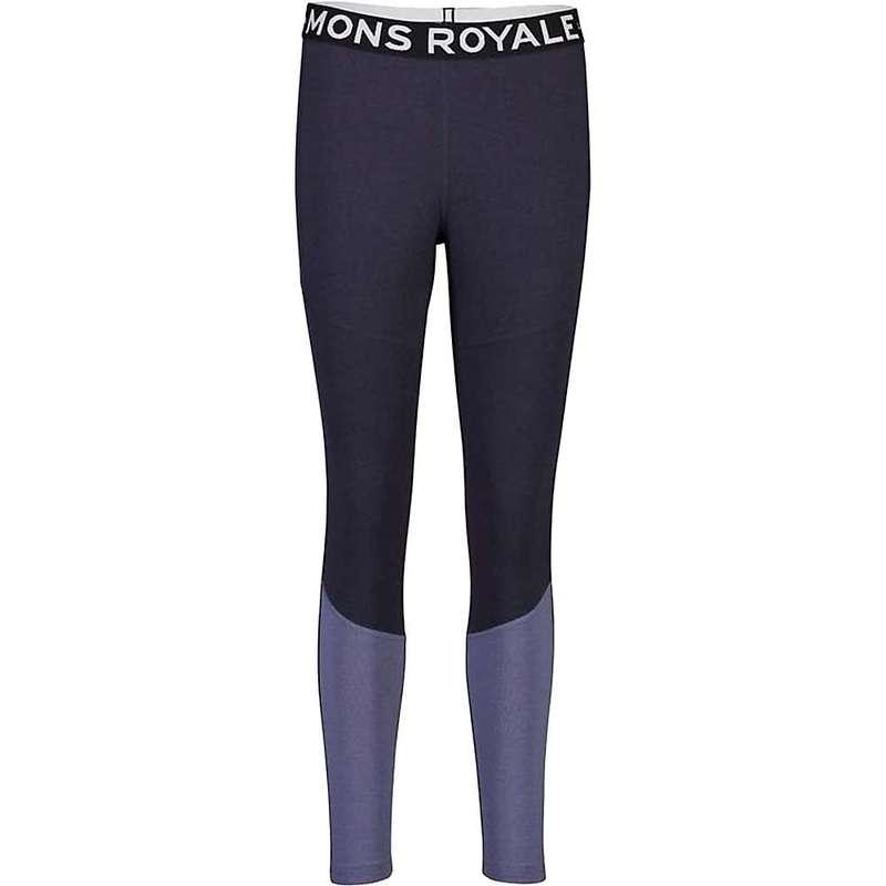 モンスロイヤル レディース カジュアルパンツ ボトムス Mons Royale Women's Olympus 3.0 Legging 9 Iron/Blue