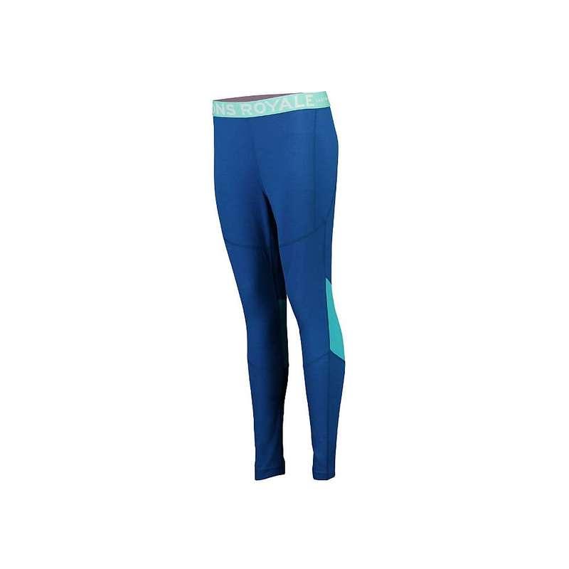 モンスロイヤル レディース カジュアルパンツ ボトムス Mons Royale Women's Olympus 3.0 Legging Oily Blue