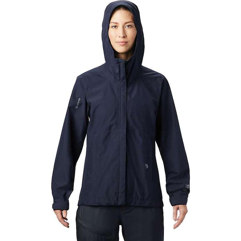 マウンテンハードウェア レディース ジャケット・ブルゾン アウター Mountain Hardwear Women's Exposure/2 GTX Paclite Jacket Dark Zinc