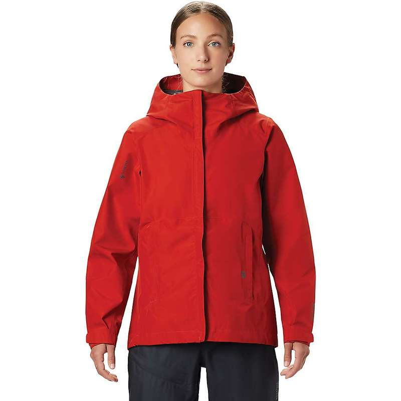 マウンテンハードウェア レディース ジャケット・ブルゾン アウター Mountain Hardwear Women's Exposure/2 GTX Paclite Jacket Desert Red
