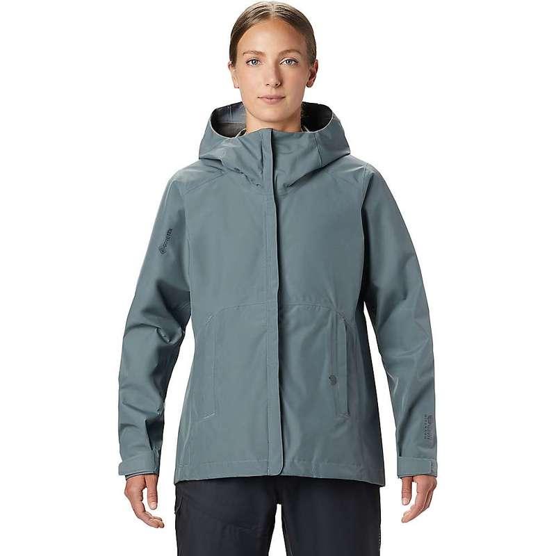 マウンテンハードウェア レディース ジャケット・ブルゾン アウター Mountain Hardwear Women's Exposure/2 GTX Paclite Jacket Light Storm