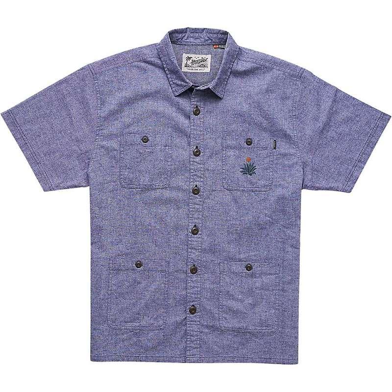 ハウラーブラザーズ メンズ シャツ トップス Howler Brothers Men's Voyager Shirt Midnight Blue Chambray