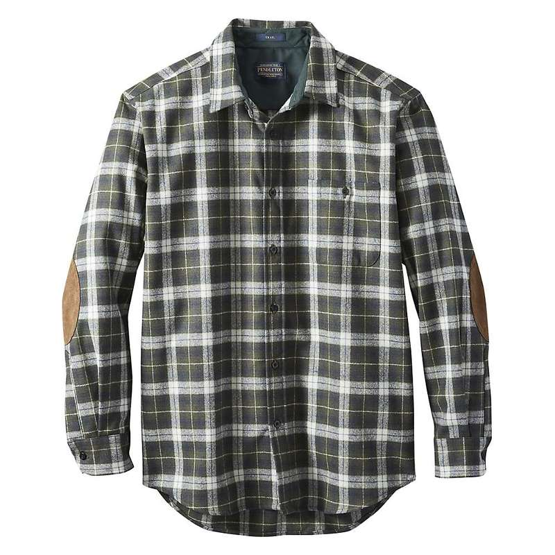 ペンドルトン メンズ シャツ トップス Pendleton Men's Trail Shirt Green/Slate Plaid