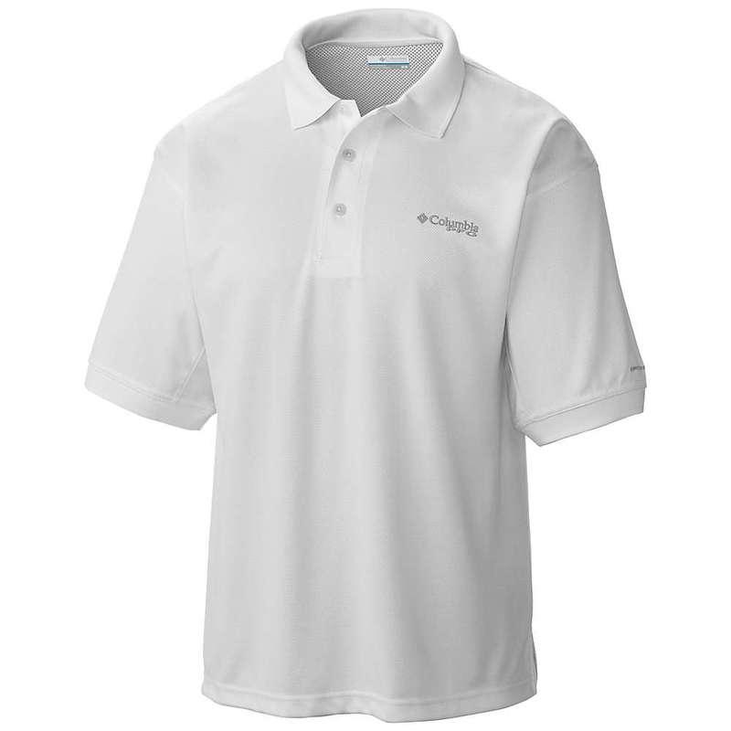 コロンビア メンズ シャツ トップス Columbia Men's Perfect Cast Polo Shirt White