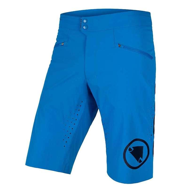 エンデュラ メンズ ハーフパンツ・ショーツ ボトムス Endura Men's SingleTrack Lite Short Azure Blue