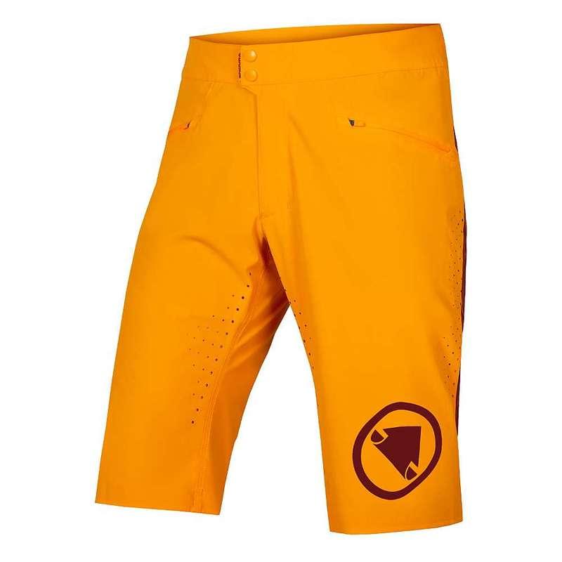 エンデュラ メンズ ハーフパンツ・ショーツ ボトムス Endura Men's SingleTrack Lite Short Tangerine
