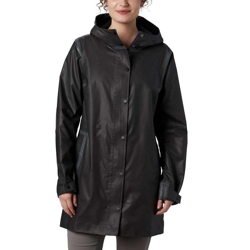 コロンビア レディース ジャケット・ブルゾン アウター Columbia Women's Outdry EX Mackintosh Jacket Black Heather